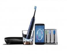 Sonicare DiamondClean Smart szónikus elektromos fogkefe alkalmazással, sötétkék kép