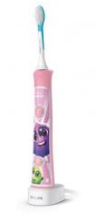 Sonicare For Kids Szónikus elektromos fogkefe, bluetooth, rózsaszín kép